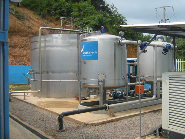 Intaka Tech completes the first three Water Treatment Stations for the Gabonese Government