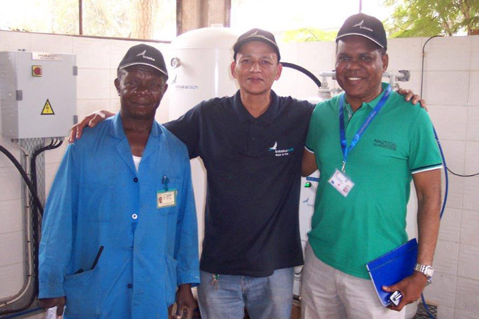 Intaka Tech Contracted for Additional Pipeline Installation at Panzi Hospital