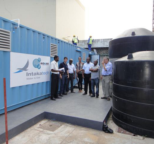 Intaka Tech installs first GGS in Mozambique