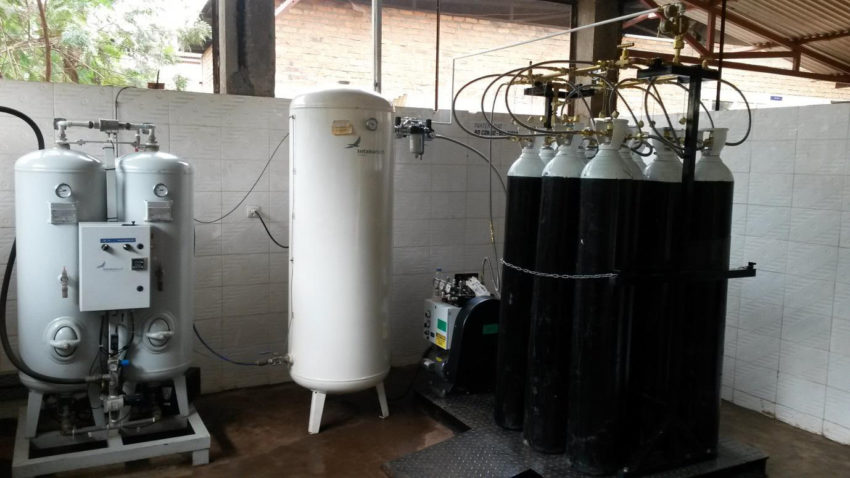 Intaka Tech Installs Cylinder Filling System at Panzi Hospital – DRC