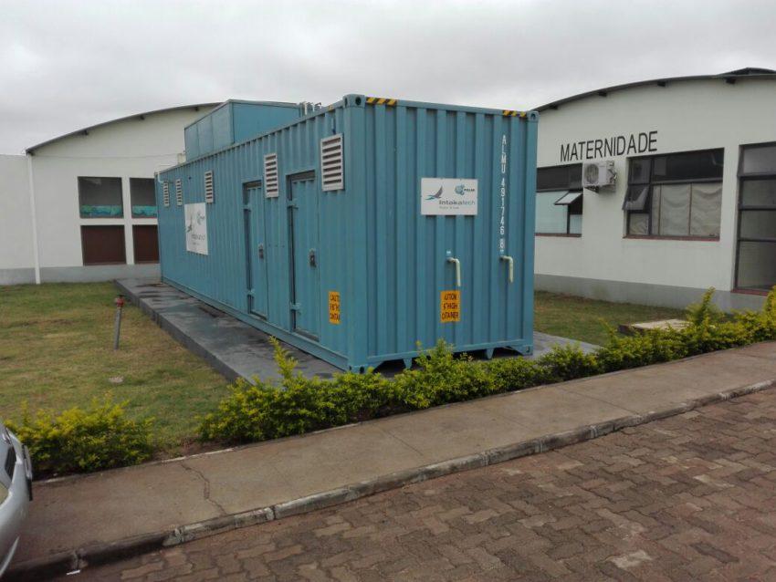 Intaka installs a GGS at Matola Hospital Mozambique