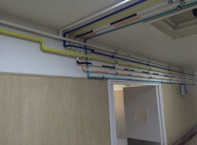 Intaka installs Medical Gas Piping & CO2 Manifold at Maputo Maternity Hospital