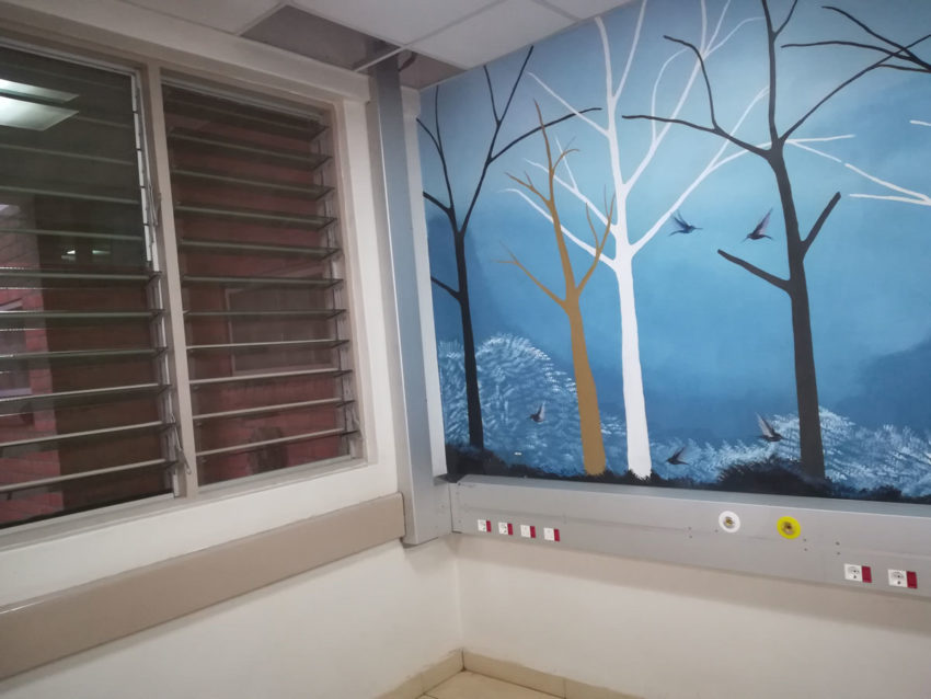 Intaka Tech installs Bed Head Units at the Mercy James Paediatric Hospital